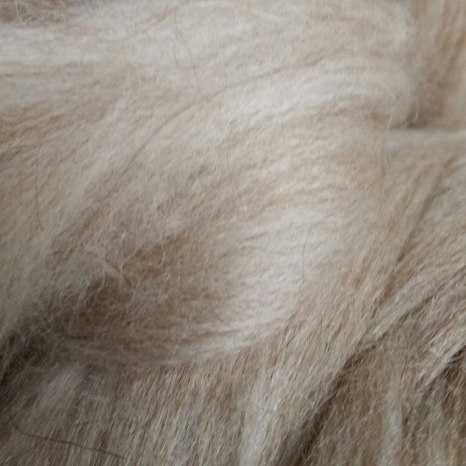 Milk and Honey Spinning Fiber