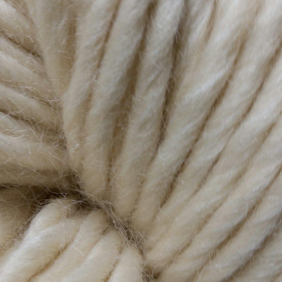 Super Fluffy Chunk BFL/silk Natural