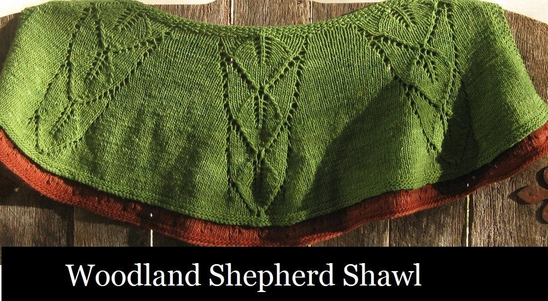 Woodland Shepherds Shawl