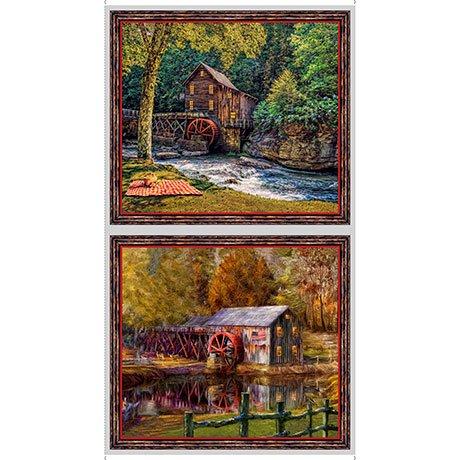 Artwork VIII quilting treasures Barns