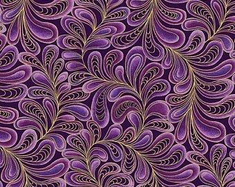 Cat-I-tude Feather Frolic Purple