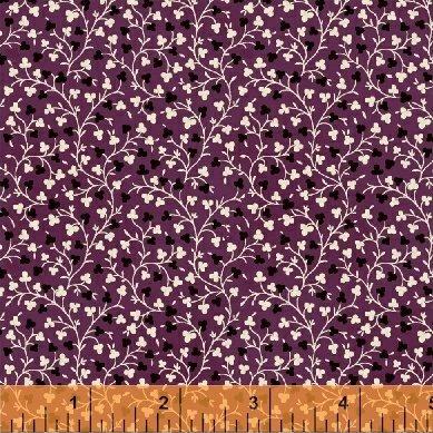 Windham Purple w/Flowers