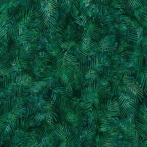 R2255-189-Christmas Green Bali Batiks