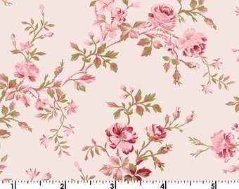 Clothworks Carte Postale Light Pink
