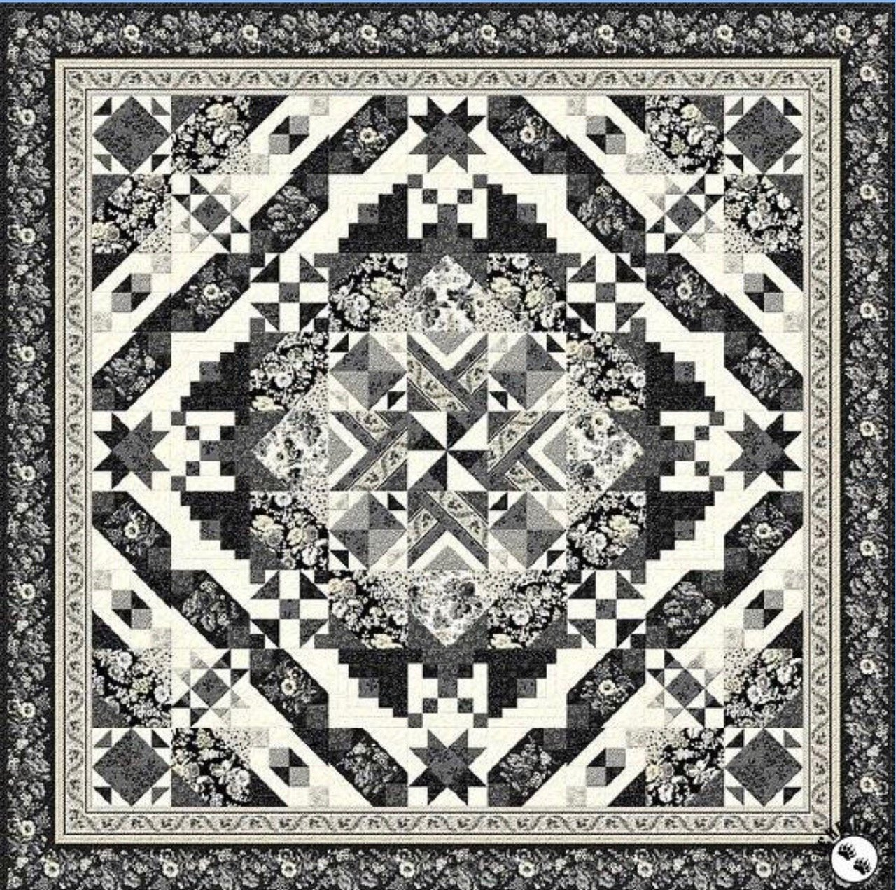 Black Diamond Quilt Along BOM