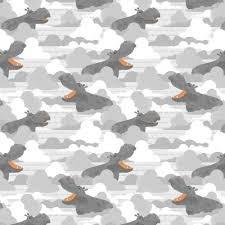 Dream Big Hippos Gray