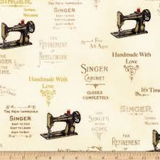 Sewing with Singer Metallic Antique