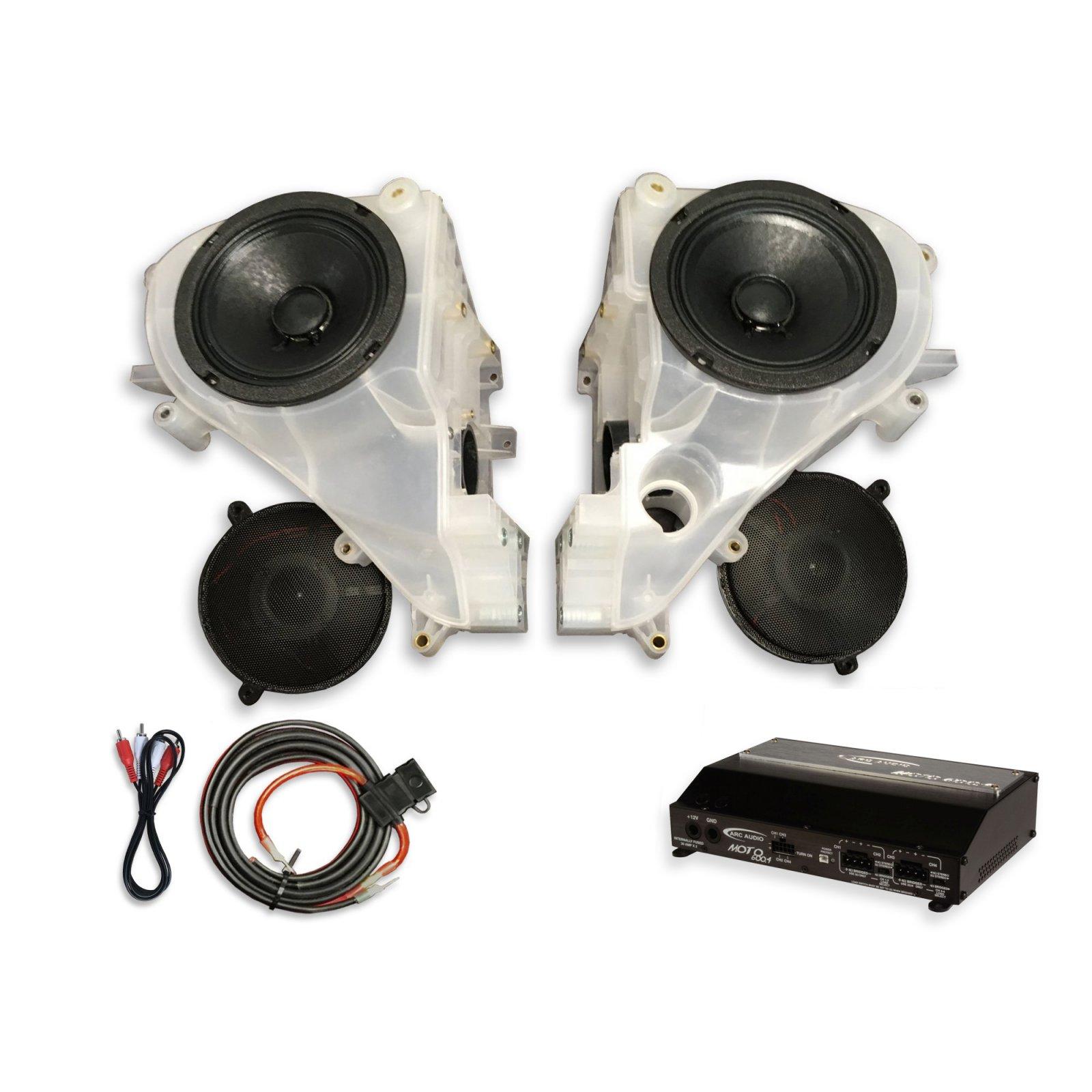 14-18 Street Glide SinisterSound Fairing System w/Arc Audio Moto720 - NO LINE LEVEL