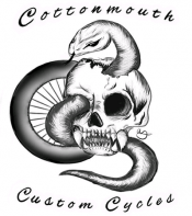 Cottonmouth Customs Logo