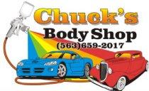 Chucks Body Shop Logo