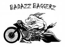 Badazz Baggers Logo