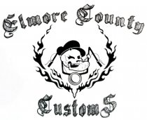 Elmore County Customs Logo