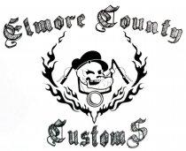 Elmore County Customs Logo