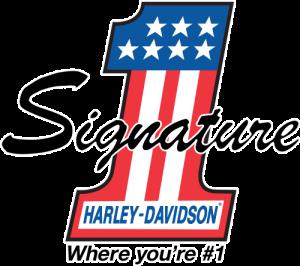Signature Harley Davidson Logo