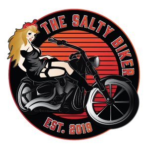 The Salty Biker Logo