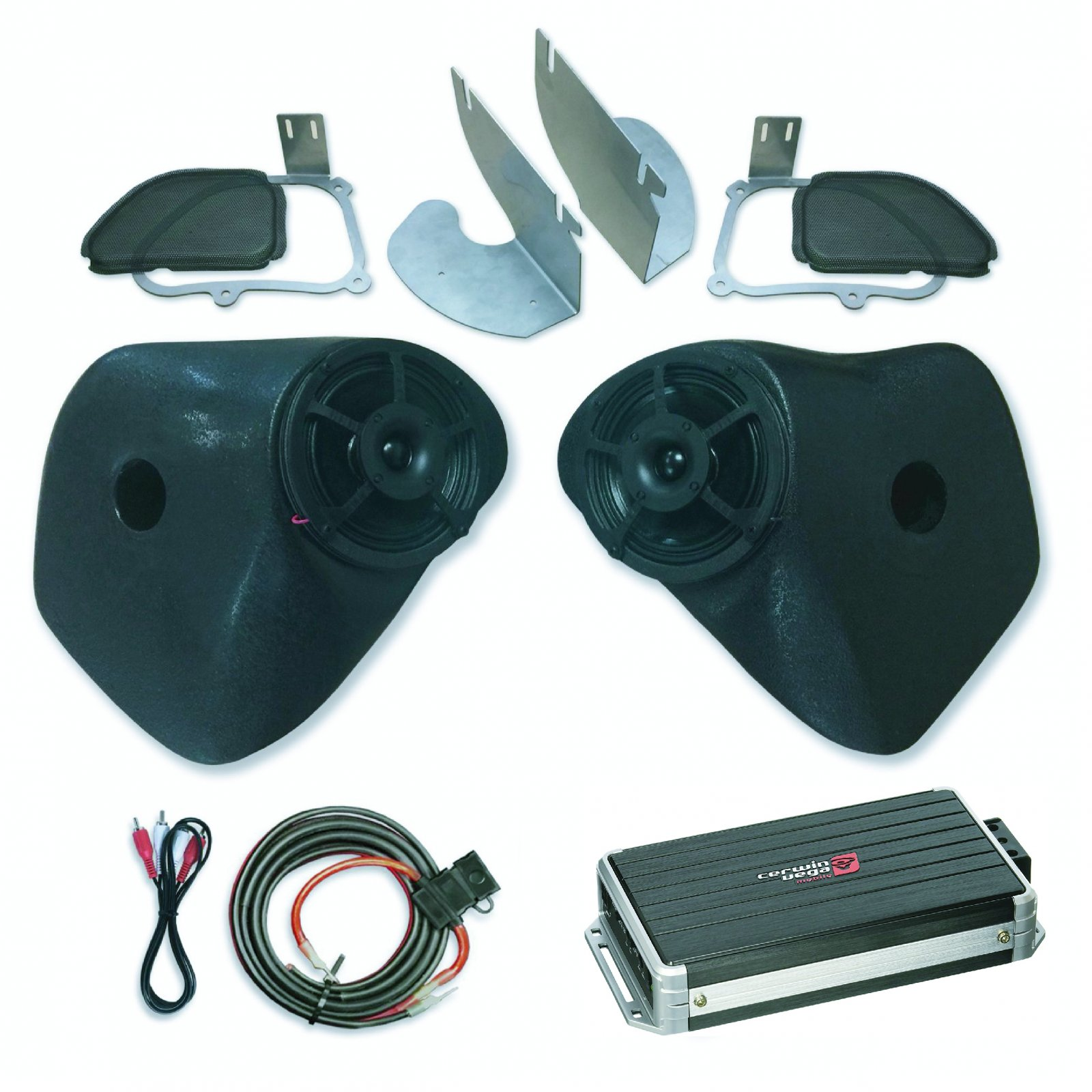 98-13 Road Glide SinisterSound Fairing System w/ CERWIN VEGA B52