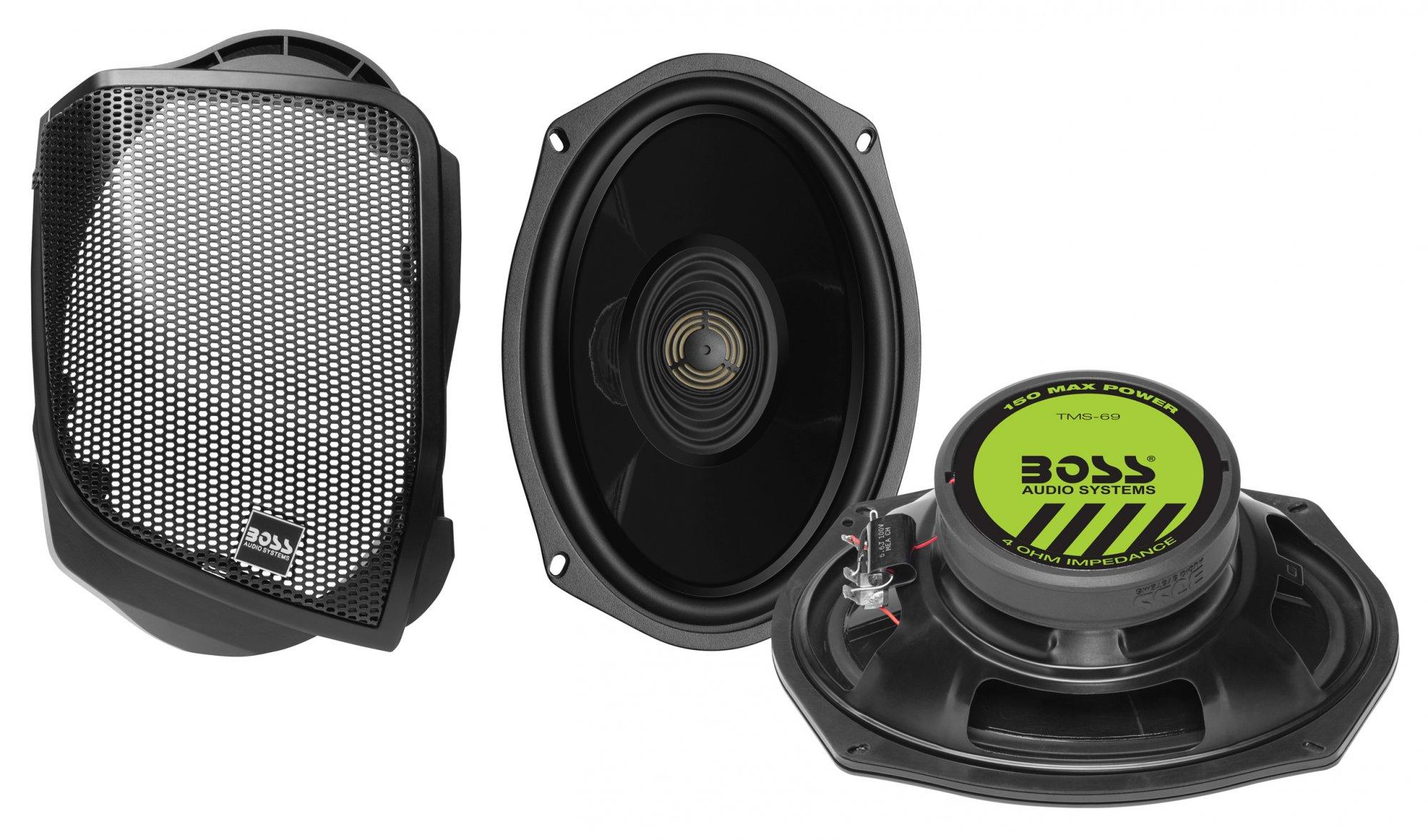 Boss Audio BHD14 cut in 6x9