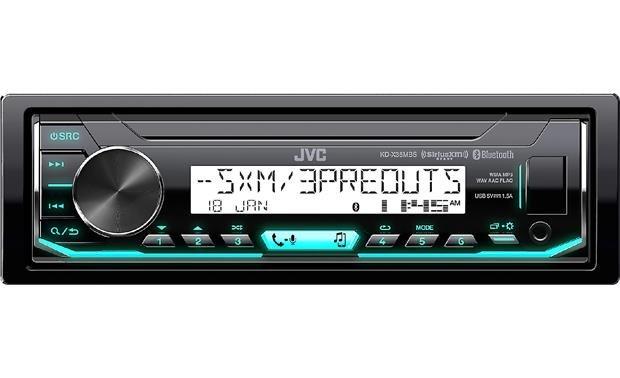 JVC KD-X37MBS marine radio, mounting kit, and pac adapter