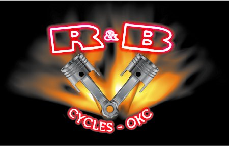 R&B Cycles logo