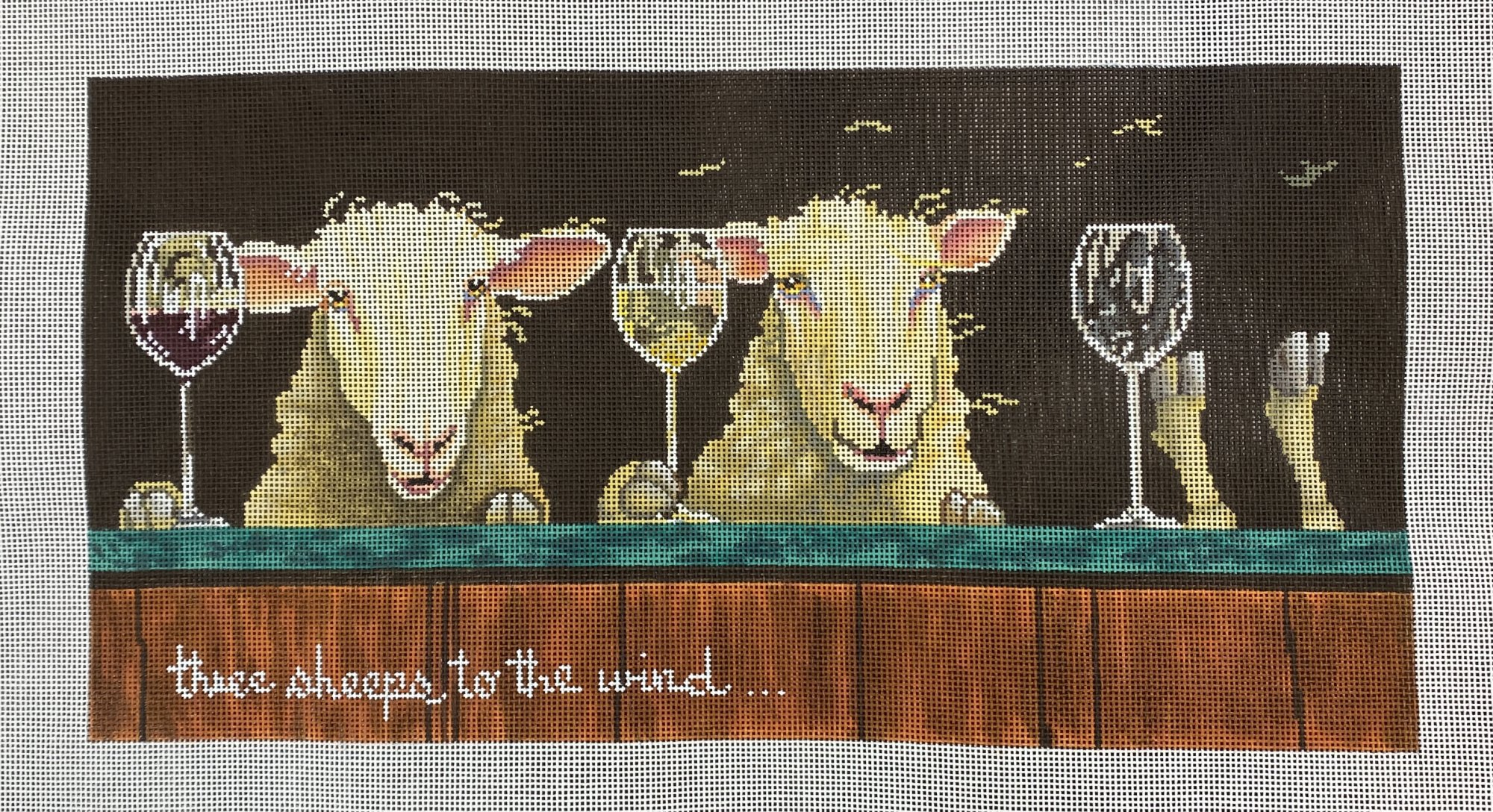 three sheeps to the wind