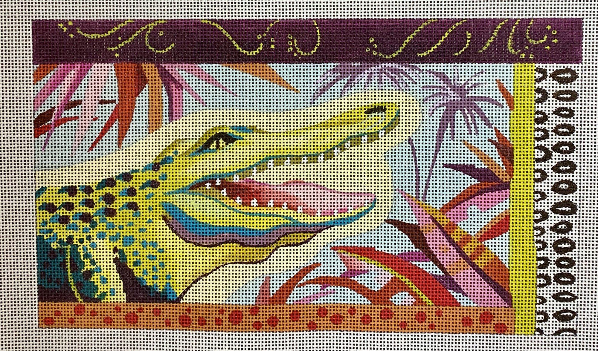 alligator clutch
