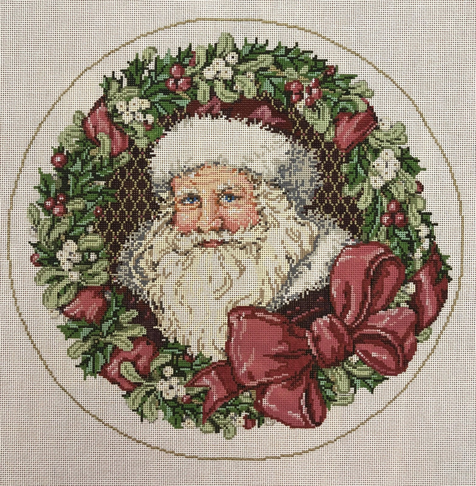 santa's wreath
