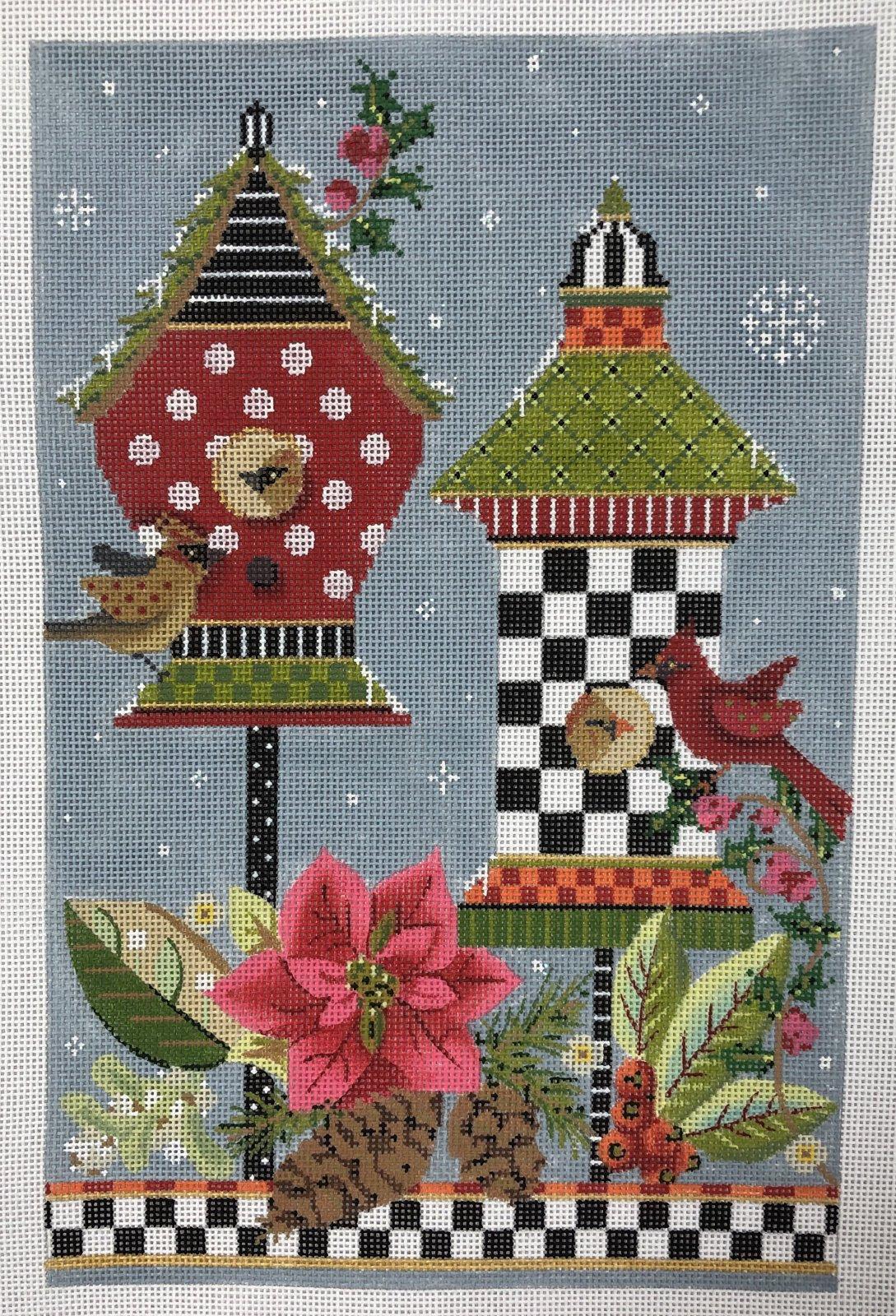 birdhouses, winter 09
