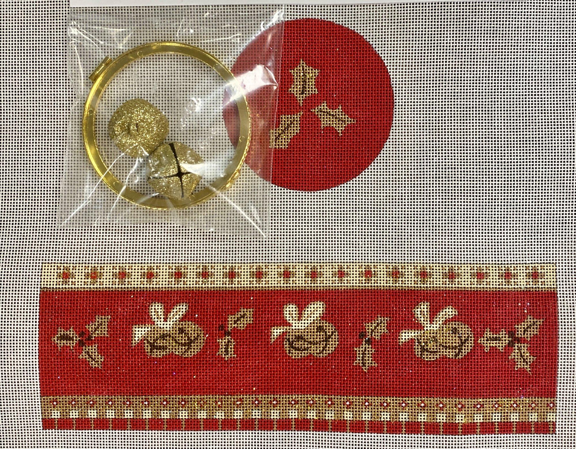 nativity hinged box, oval