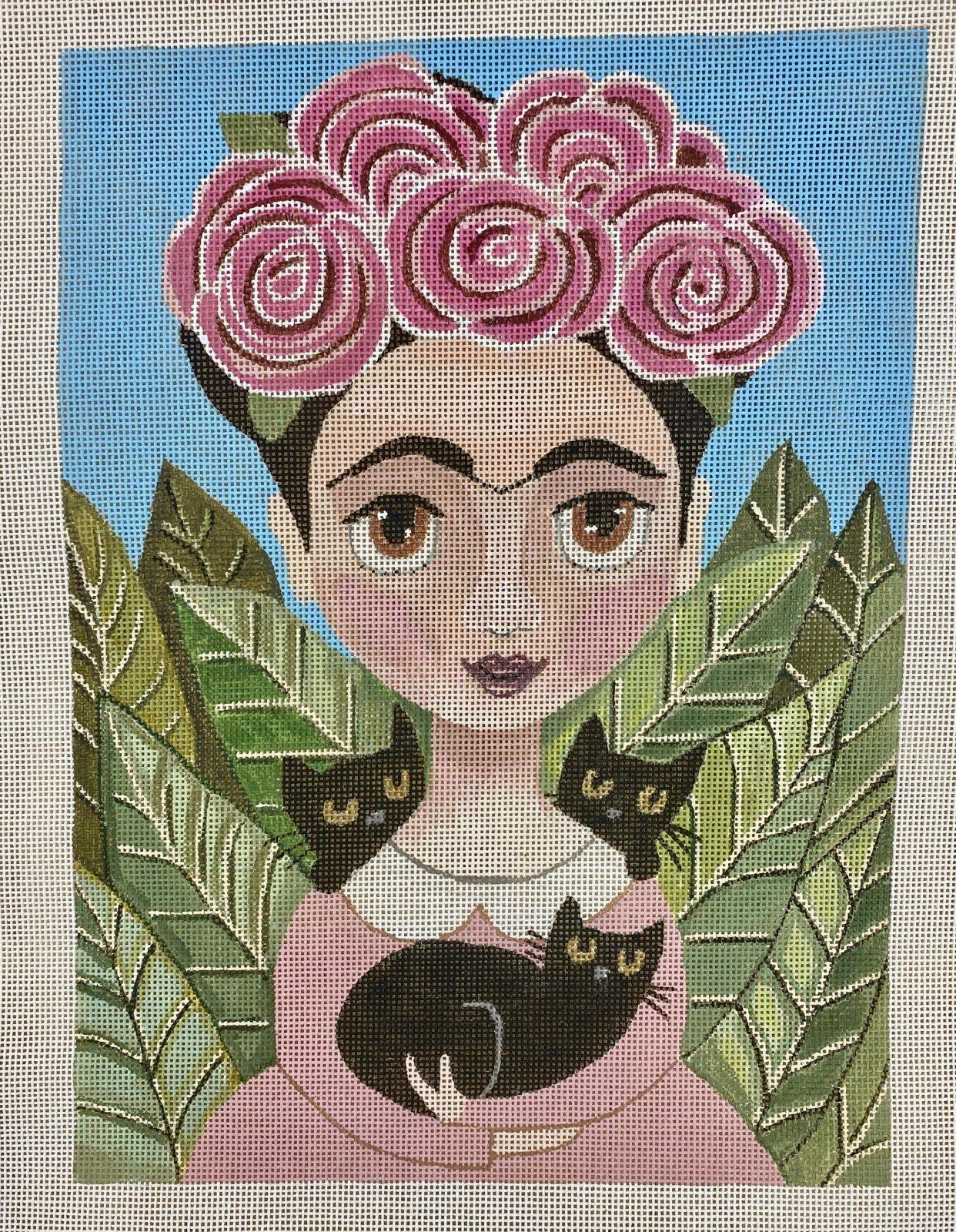 frida & her black cat