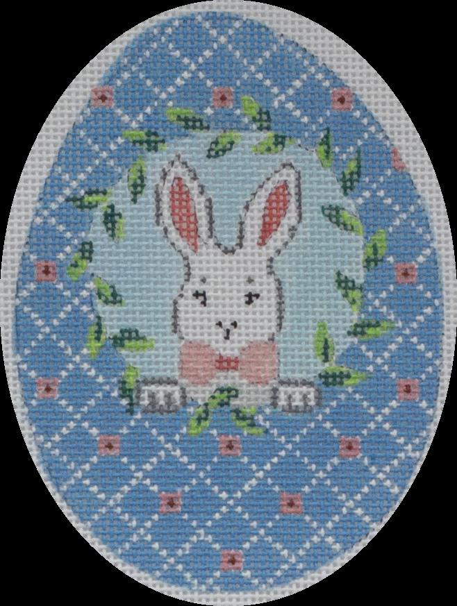 blue egg w/ bunny