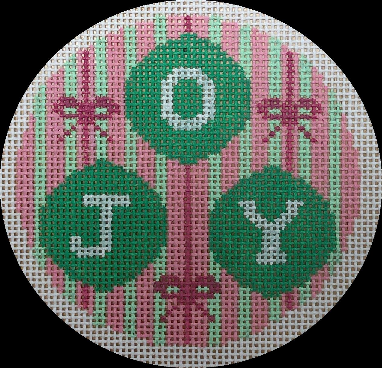 pink & green joy