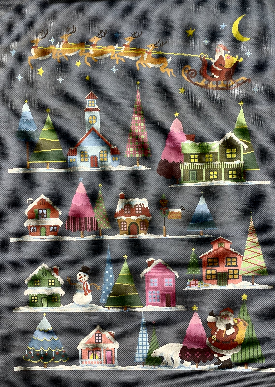 christmas village w stitch guide