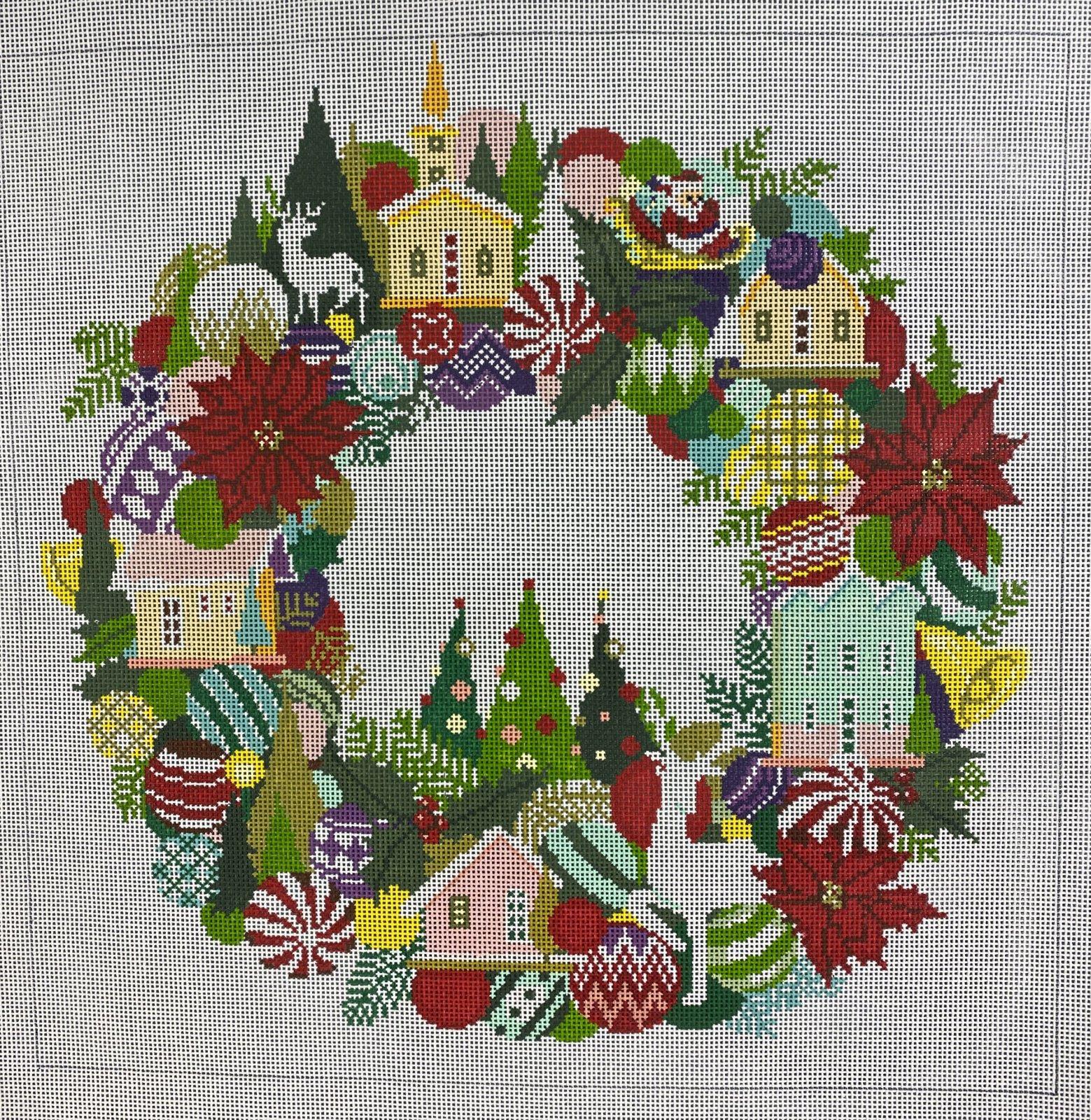 community christmas wreath