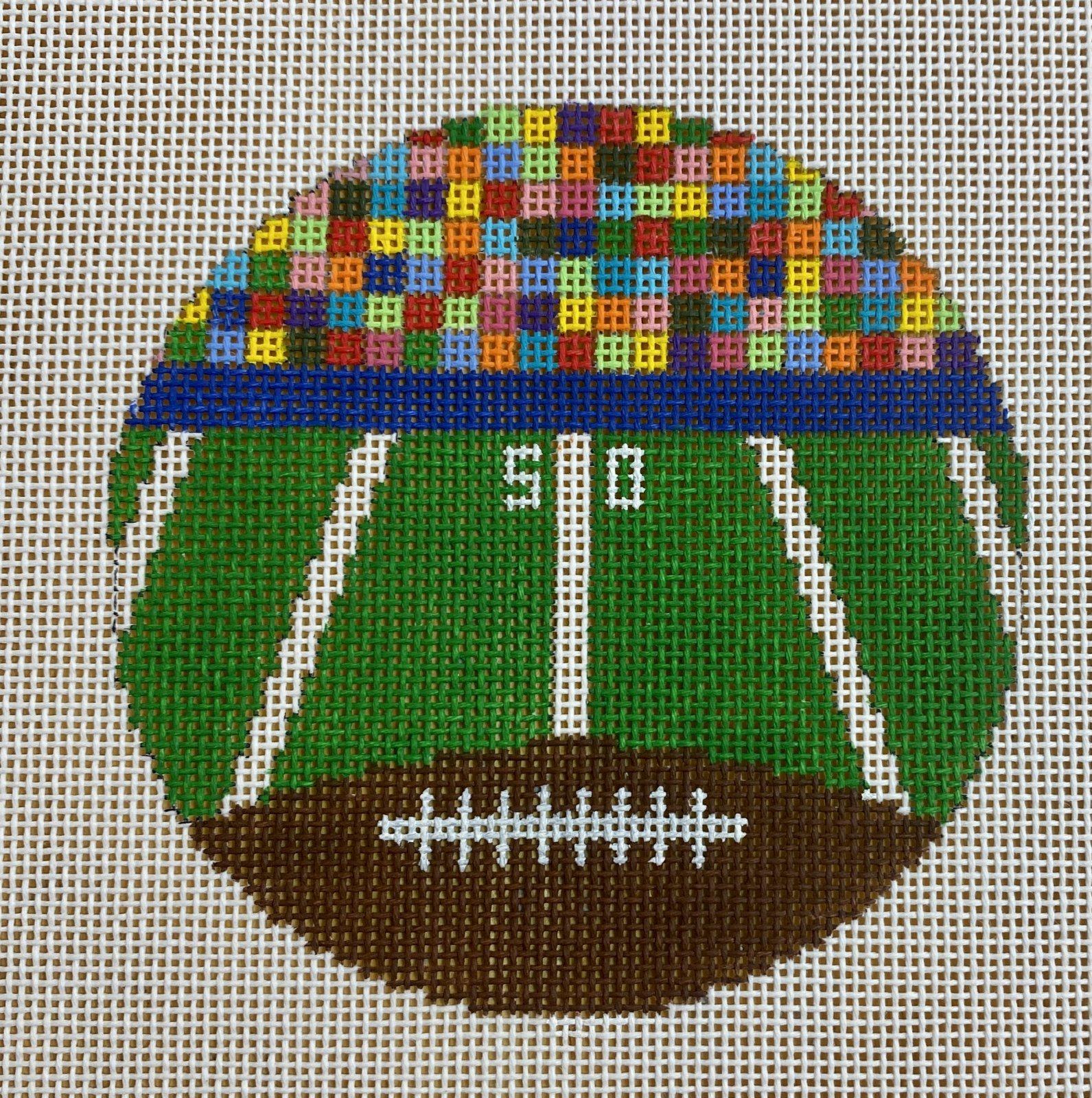 football field round