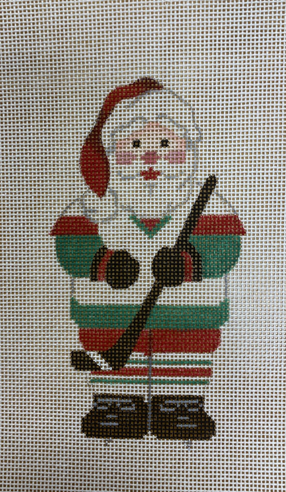 sports santa, hockey
