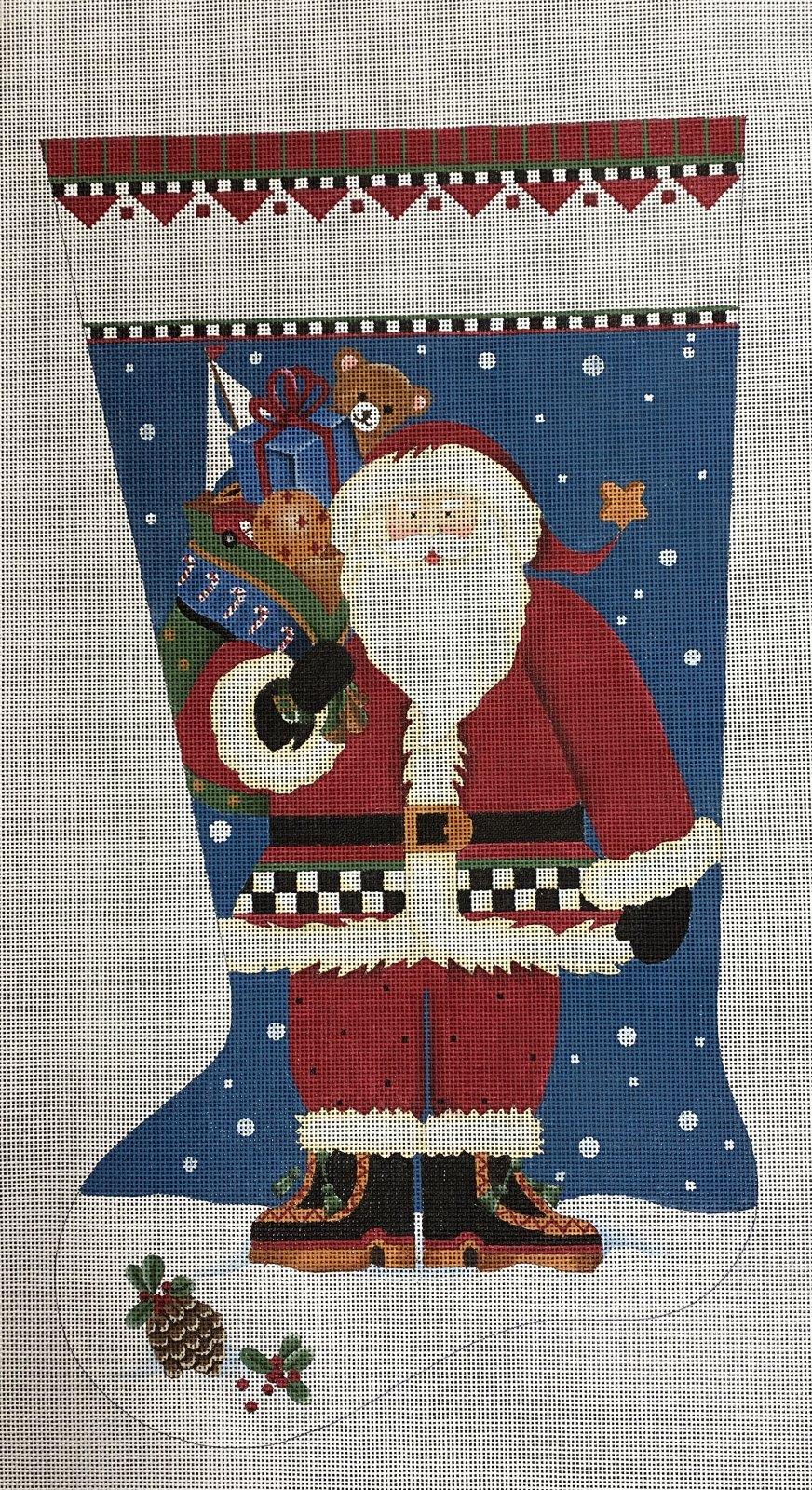 toy santa sock