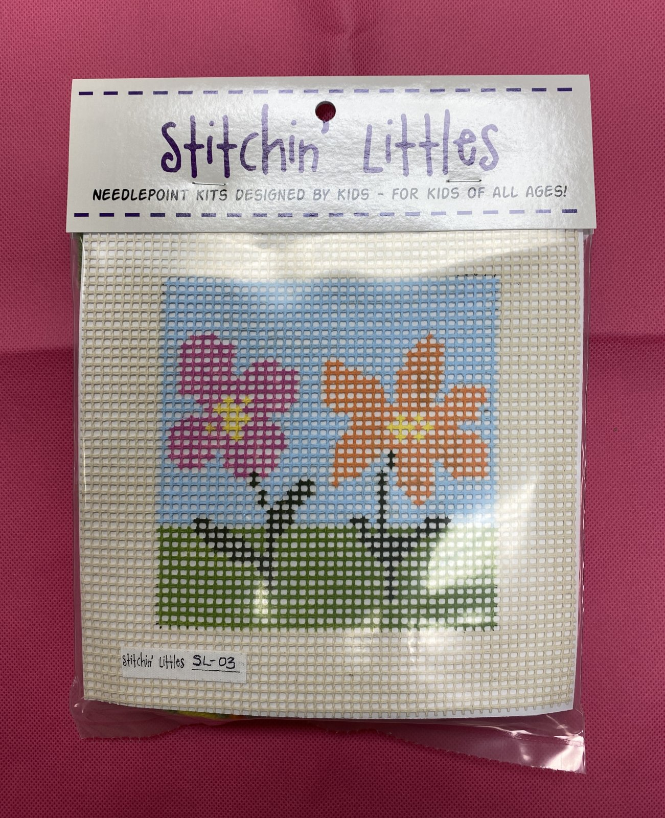 stitchin' littles canvas kit & backpack