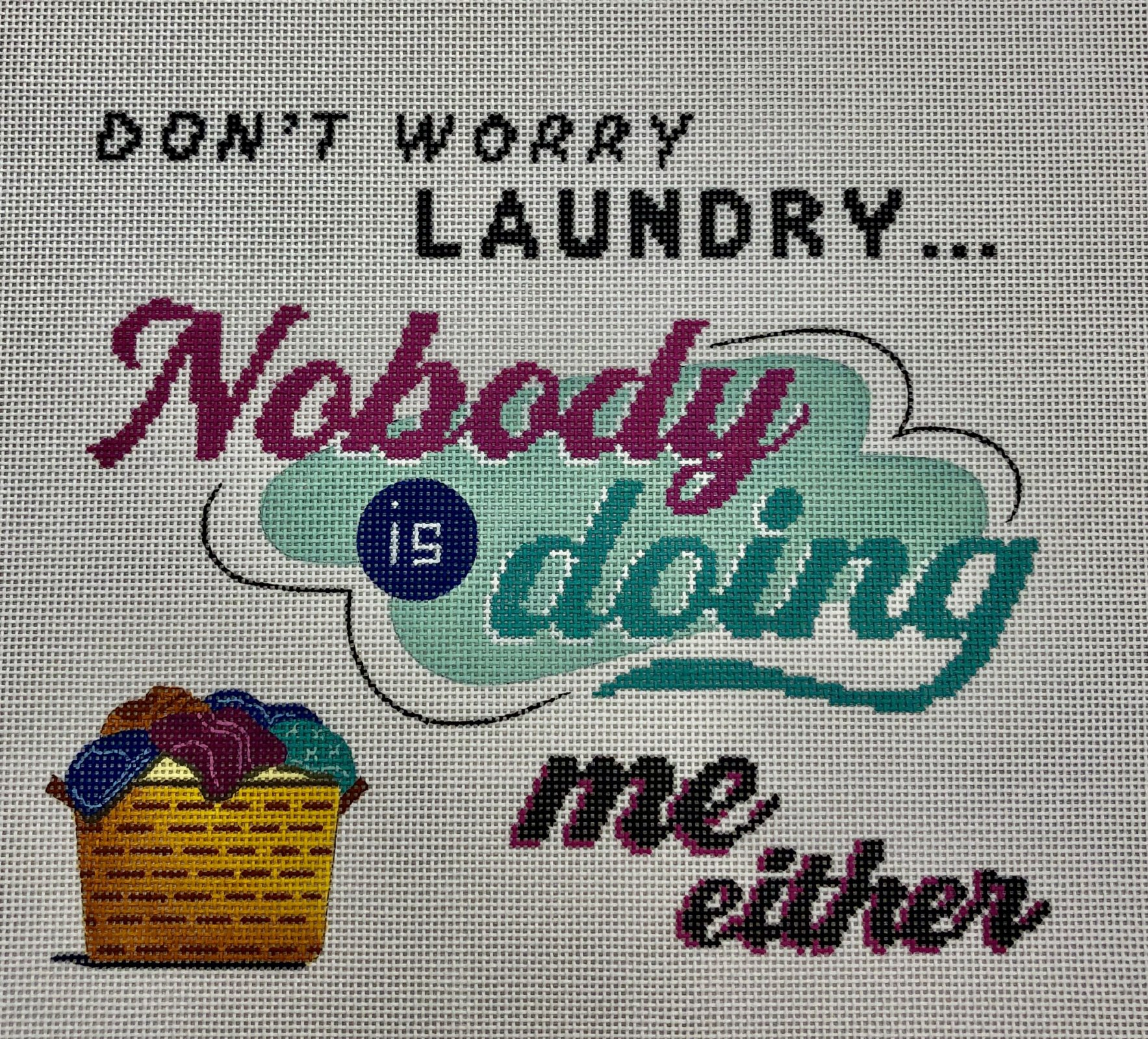 don't worry laundry...
