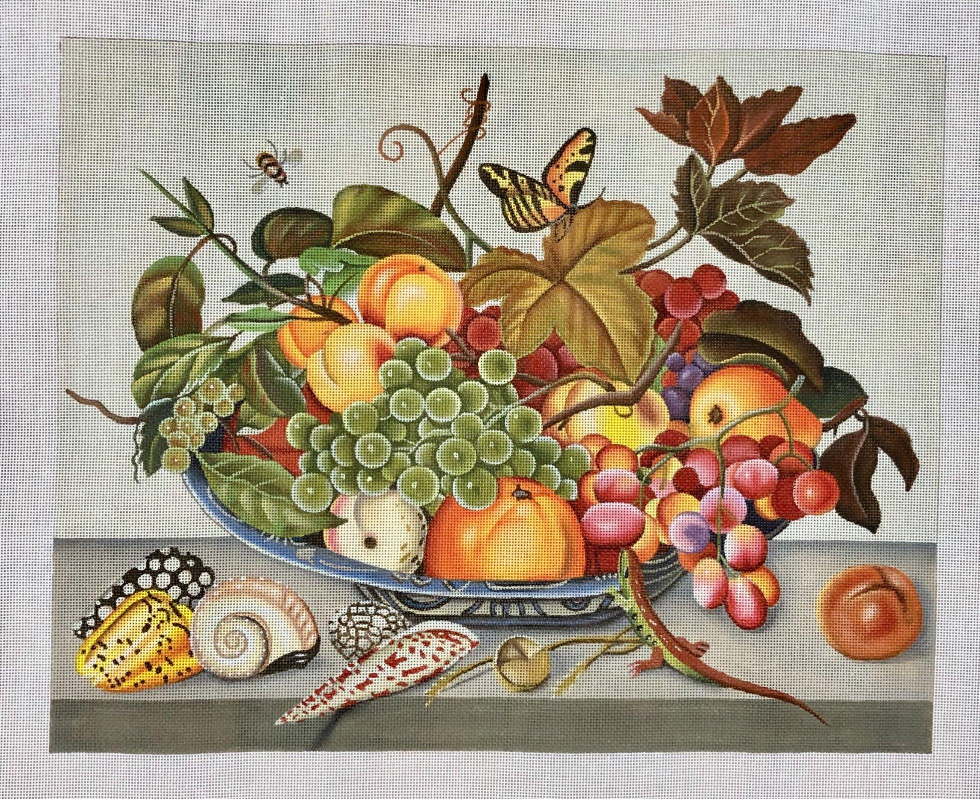 fruit bowl & shells