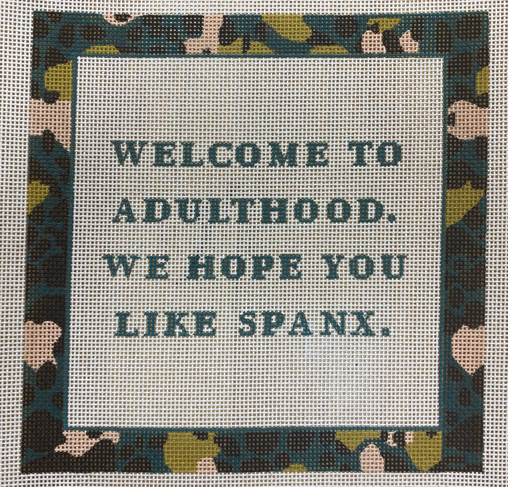 welcome to adulthood, spanx