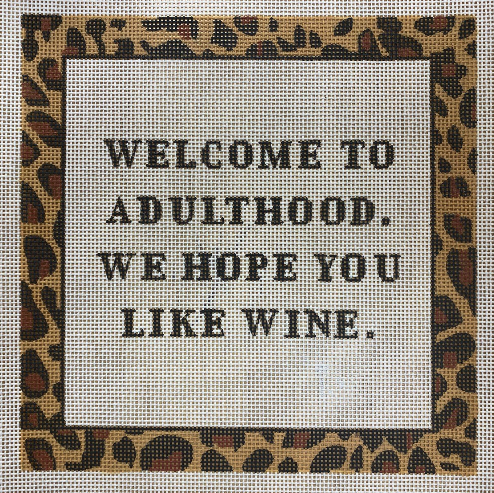 welcome to adulthood, wine