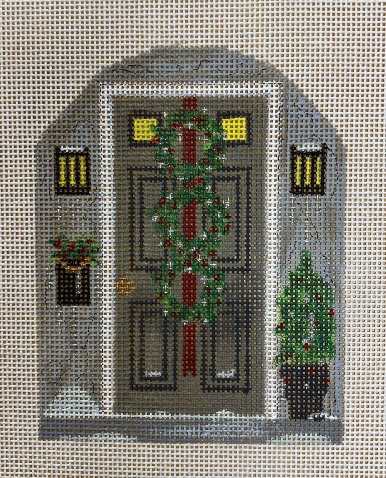 3 wreath door