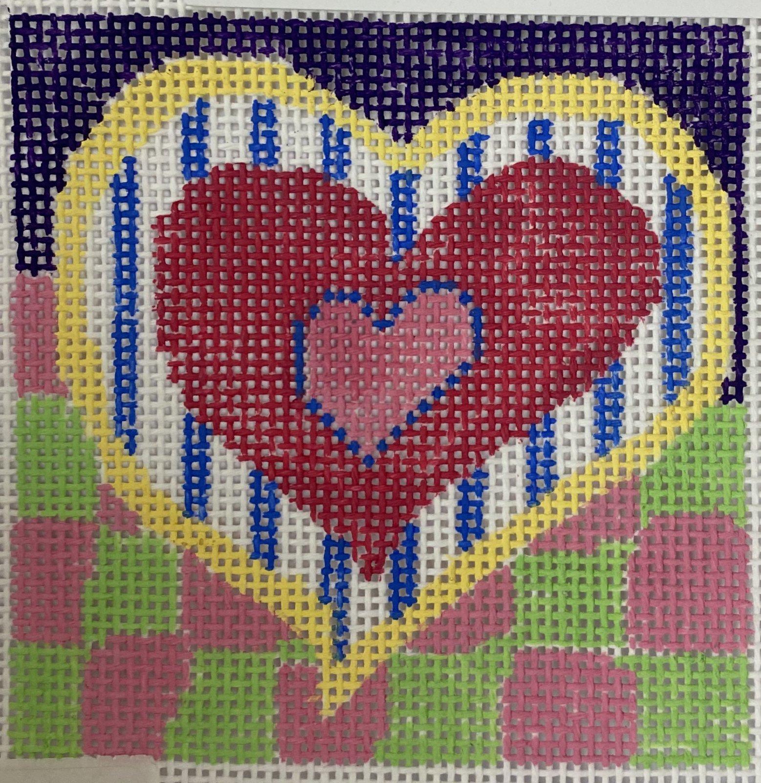 heart coaster #1