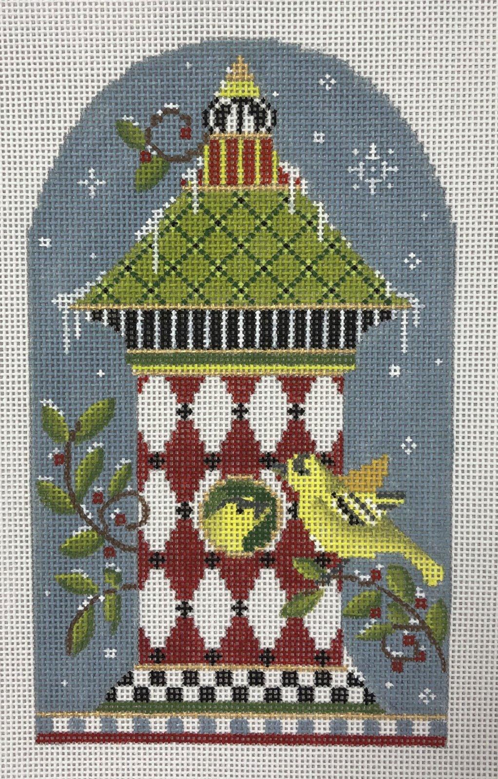 birdhouse, winter  12