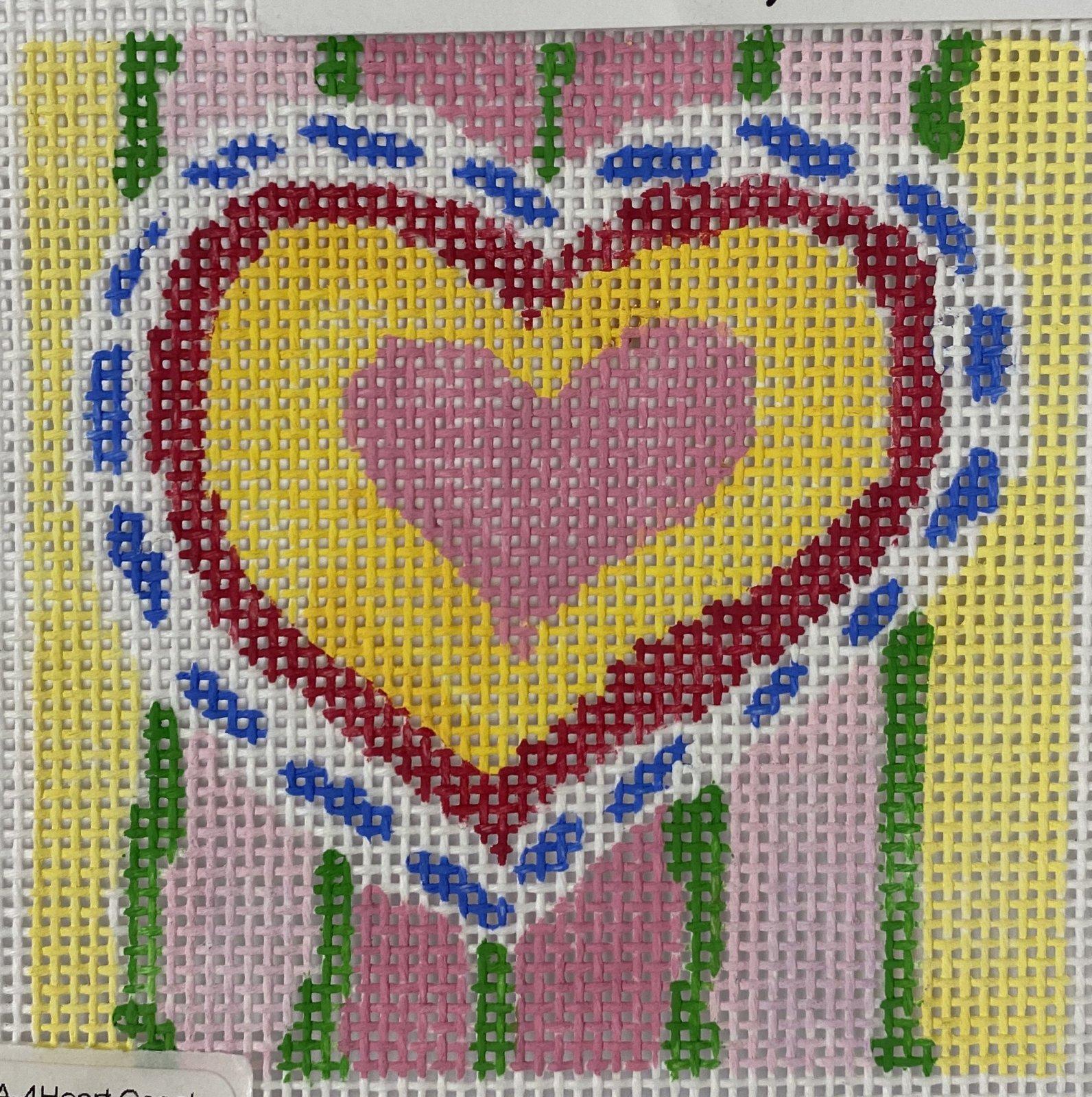 heart coaster #4