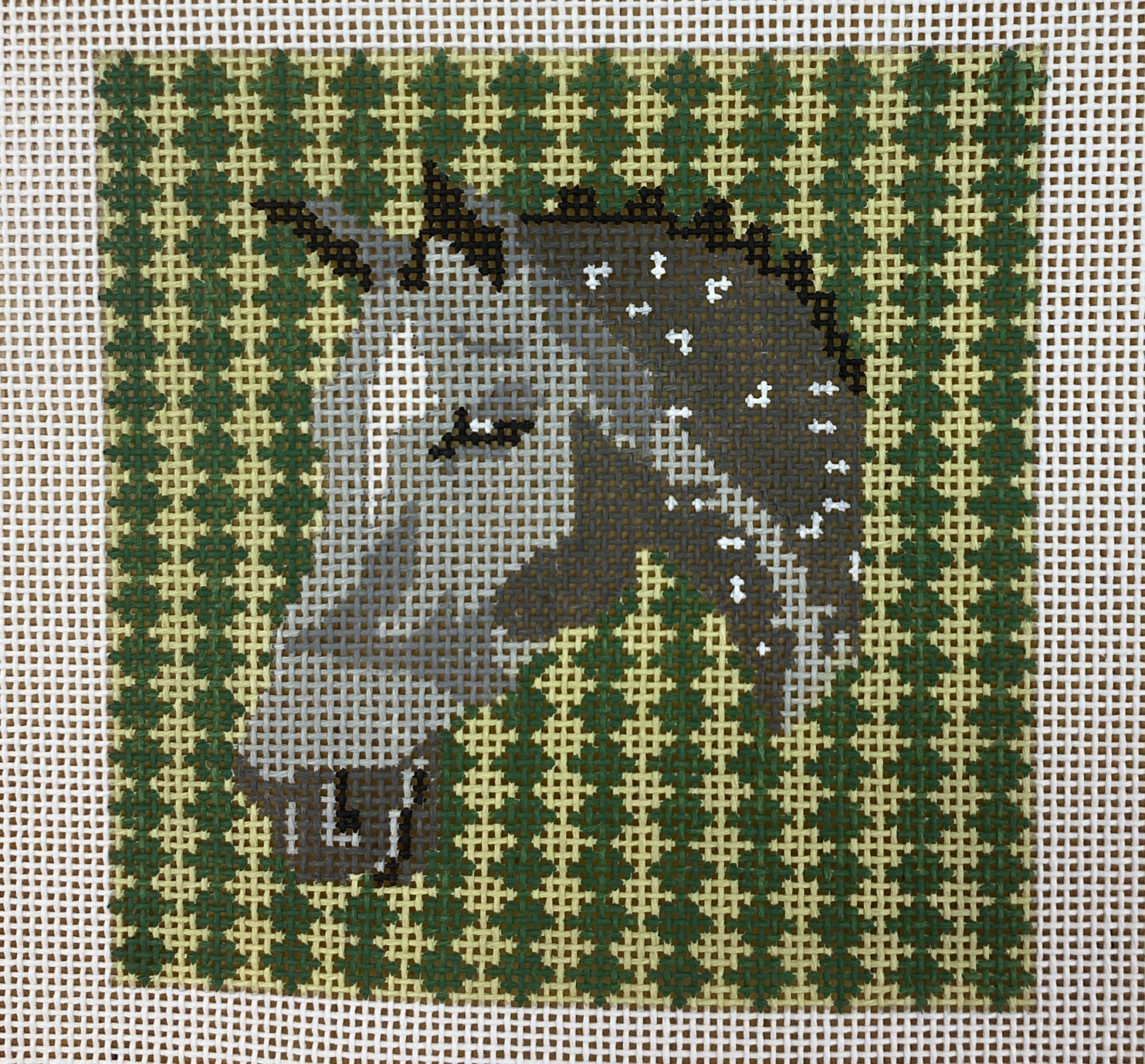 horse houndstooth