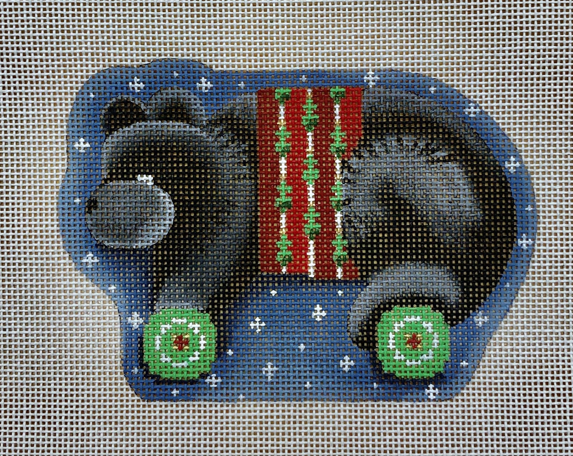 black bear wheels ornament