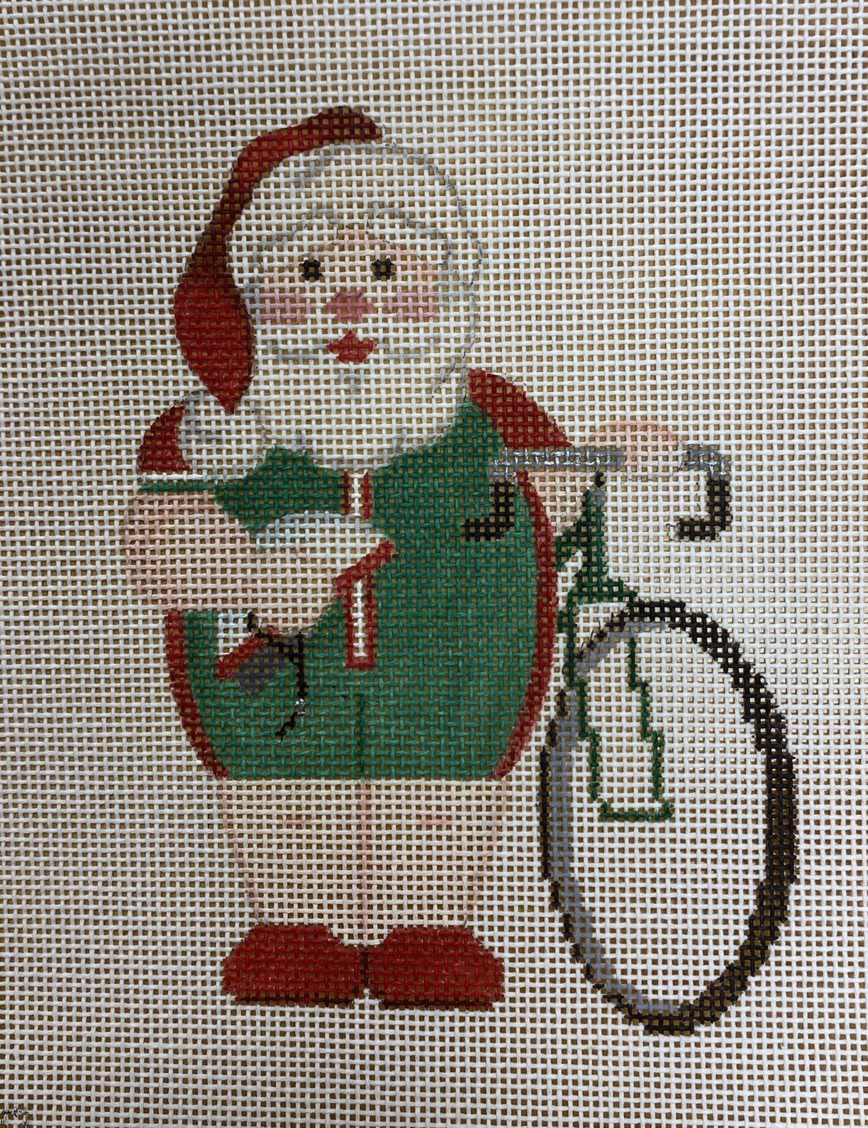 sports santa, cycling