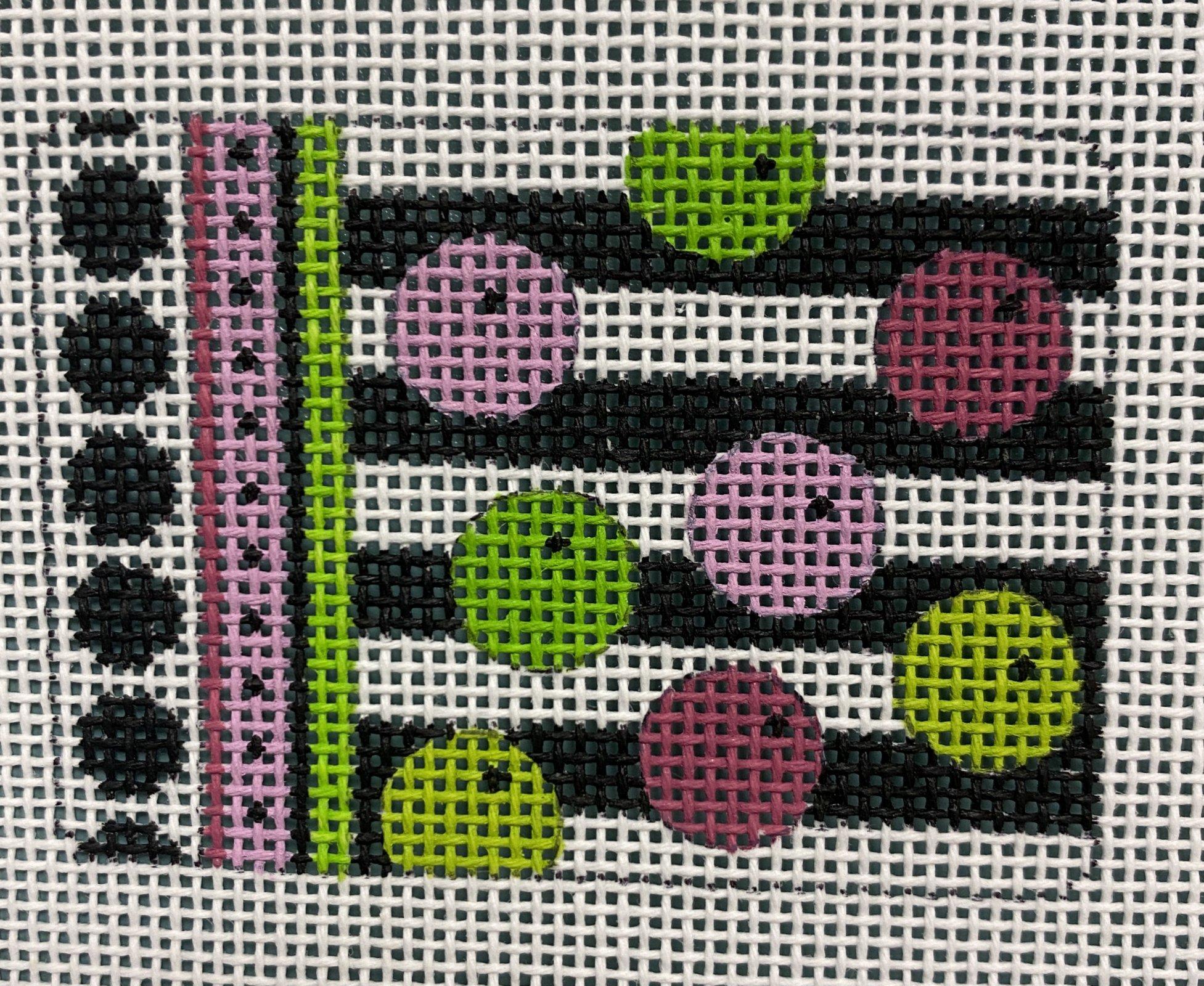 pink & green balls insert