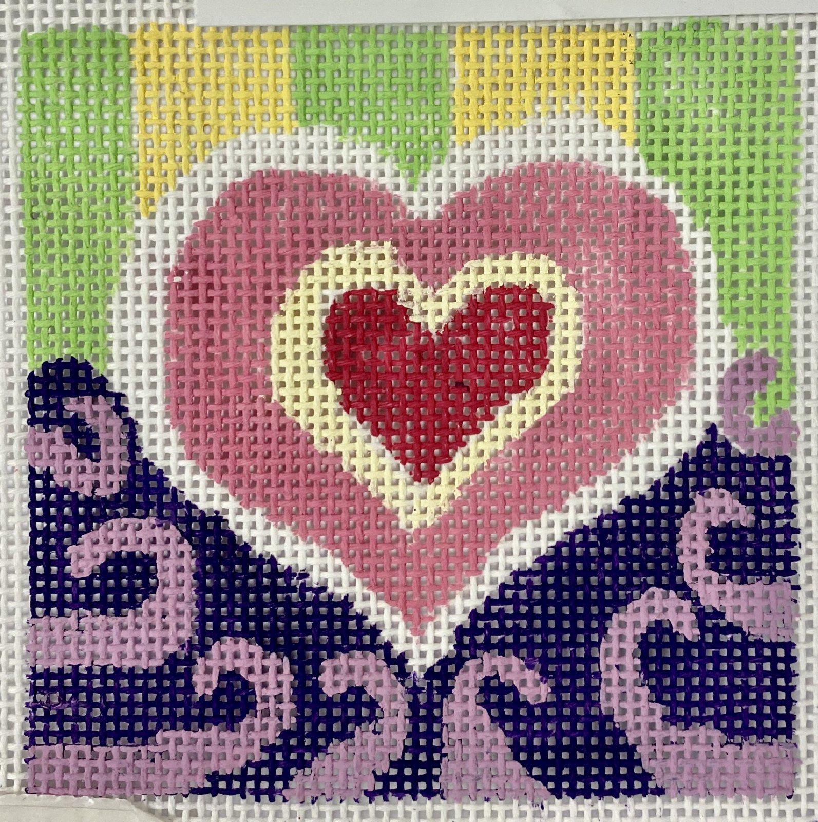 heart coaster #2